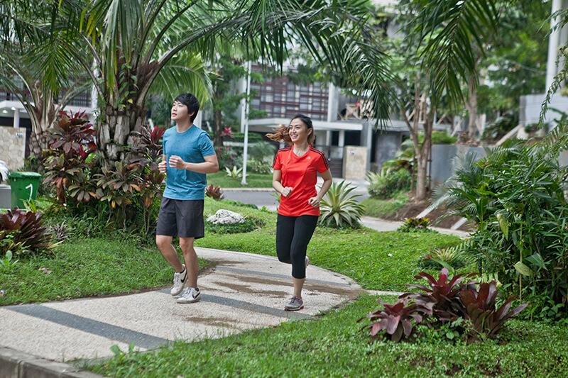 Jalan-perum-jogging-track-permatajingga-Malang-1